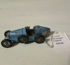 MATCHBOX MODELS OF YESTERYEAR 1923 Type 35 SUPERCHARGED Blue BUGATTI Lesney Y-6