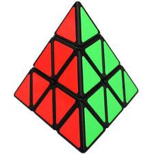 Educational Toys Pyraminx Triangle Rubik Cube Pyramid Brain Teaser Puzzle Cube
