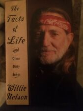 "Willie Nelson Autographed Book ""The Facts Of Life & Other Dirty Jokes"""