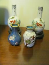 New listing Antique Collection Of Four Miniature Chinese Vases
