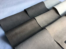 Luxury automotive upholstery uni-suede by the yard