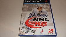 PLAYSTATION 2 PS 2 NHL 2k6