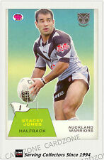 2003 Select NRL Scanlens Trading Card Retro #1: Stacey Jones (Auckland)