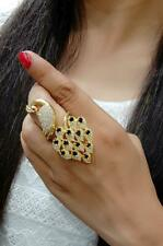 Indian Pakistani Bollywood Finger Ring Gold Free Size Casual & Party Wedding