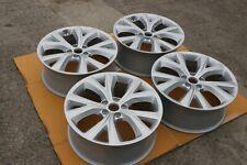 "Set di 4 Originale Hyundai Santa Fe 19 "" Lega Ruote Yspoke Argento Inverno"