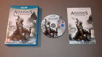 Assassin's Creed III ( Nintendo Wii U ) European Version Pal