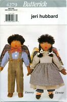 Butterick 4279 Girl & Boy Angel Dolls 15 inch Sewing Pattern Hubbard UNCUT FF