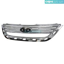 NEW FRONT GRILLE CHROME FITS 2011-2013 FORD FIESTA FO1200532C AE8Z8200AA CAPA