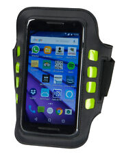 Aura Black LED Phone Armband For Jogging Running Walking