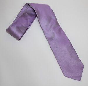 Calvin Klein Crystal Moron Dress Tie - Purple - 100% Silk *NEW with Tag*