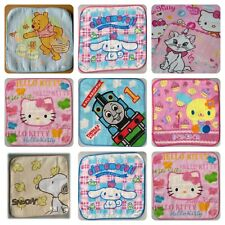 Character Flannel Towel Snoopy Winnie Pooh Hello Kitty Thomas Tank Marie Cat