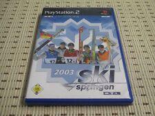 RTL Skispringen 2003 03 für Playstation 2 PS2 PS 2 *OVP*