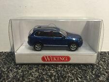 VW Touareg I GP Facelift 1:87 von Wiking schwarzmetallic