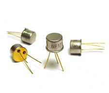 4x Siemens BF177 / BF 177 Wideband Planar Transistor, NPN, Gold Pin, NOS
