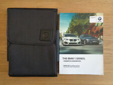 BMW 1 Series Owners Handbook/Manual and Wallet 15-18