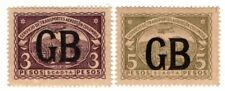 GREAT BRITAIN - COLOMBIA - SCADTA CONSULAR SET - Sc CLGB51/61  - 1923  $ 470 RRR