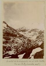 Suisse, En montant du Lac de Lucendro au col de la Valetta  Vintage citrate prin