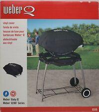 Weber 6550 Vinyl Bbq Grill Cover for Weber Baby Q, Q-100 Grills. See description