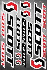 Scott Bicycle Frame Decals Stickers Graphic Set Vinyl Adesivi