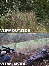 Camo Hide Net Netting Clear View Pigeon Decoy Shooting 4m Jack Pyke
