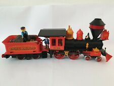 Playmobil Western Eisenbahn Lok 4054 Steaming Mary top Zustand original Figuren