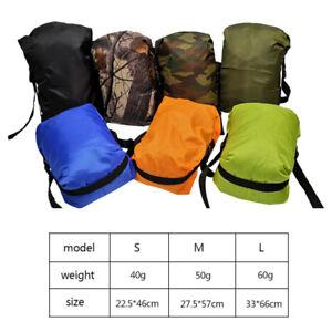 Compression Stuff Sack Outdoor Camping Sleeping Bags Storage Bag Waterproof