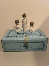 Lladro Mini Angels #1604 Figurines In Original Box Very Rare!