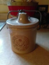 "The Great Seal Of The United States Of America 4"" crock with out rubber ring"