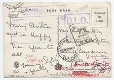 India 1971 Jan 16 picture postcard to Australia, Bombay dead letter office
