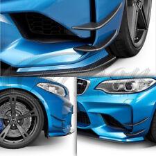 BMW M2 (f87) véritable fibre de carbone Pare choc avant séparateur ailettes