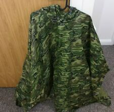 Army Camouflage Poncho Coat