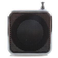 TD-V26 Portatil Mini Altavoz con Digital y Micro-SD / TF / USB / FM - Negro C1G1