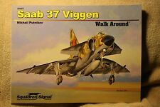 SAAB 37 Viggen Walk Around Squadron Signal Book # 25055 Brand New Condition