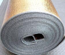 5mm Natural Gold Laminate Engineered Wood Flooring Underlay Sound Damp Proof DPM