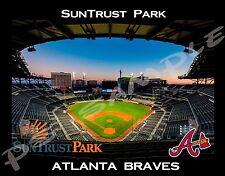 Atlanta Braves - SUNTRUST PARK - Travel Souvenir Flexible Fridge Magnet