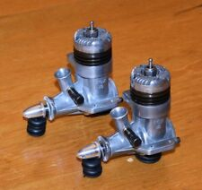 1958 Fox Rocket 15 Twin Pair model airplane engines vintage spinners .15 2.5cc