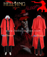 Alucard Cosplay Costumes From Hellsing H008
