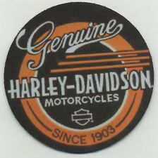 Genuine Harley Davidson Motorcycles Since 1903 -  Beverage COASTER