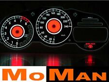 TOYOTA CELICA T23 glow gauges tacho plasma dials face tachoscheiben INDIGLO SET