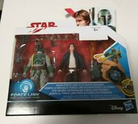 Han Solo / Boba Fett - Star Wars Action Figuren - Forcelink 2-Pack - neu & OVP