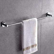 Single Towel Shelf Rail Rack Holder Chrome in Bathroom Bath Stainless Steel SY