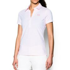 Under Armour Women's Zinger Short Sleeve Polo Golf Shirt HeatGear - Size XS