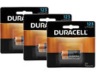 3 x Duracell Ultra Lithium CR123A Battery 3V CR17345 EL123 EXP:2024 Pack of 1