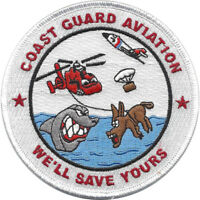 Coast Guard Aviation Patch We'll Save Yours