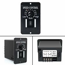 12v 24v 36v 48v Pwm Dc Motor Speed Controller Reversible Switch 6a Regulator Yu