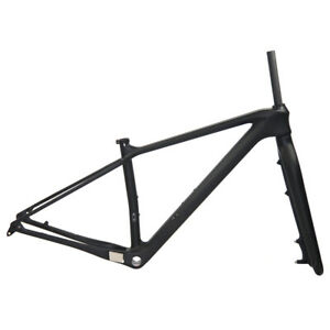 2021 New 29er Carbon Mountain Bike Frame 29 MTB Bicycle Frame With 100x15mm Fork