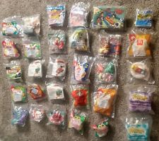 McDonald's Toys Lot 30 Vtg 80s & 90s Happy Meal Disney Mickey Bart Peanuts New
