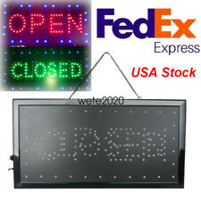 Bright Open/Closed Led Light business Store Bar Coffee Cafe Sign neon Portable