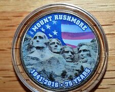 2016 Colorized Mt Rushmore Kennedy Half Dollar with Case- Beautiful