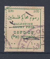 1919/20 Palestine 100p court fees stamp on piece